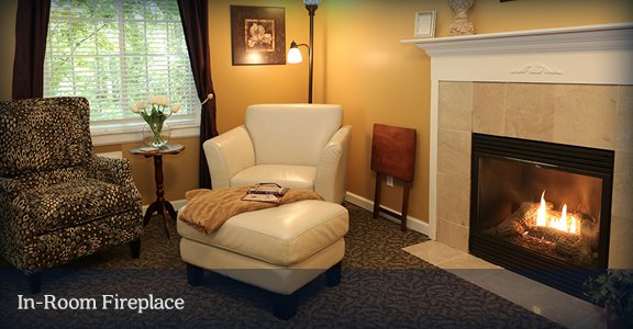 South Haven Bed and Breakfast with In Room Fireplaces